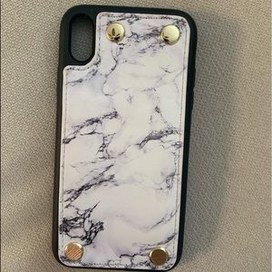 Marble Wallet Case- Iphone XR
